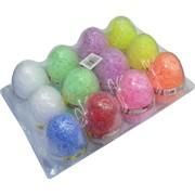 Яйцо 12 см легкий пластилин 12 шт/уп
