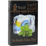 """Табак для кальяна Al Ajamy Gold 50 гр """"Ice Double Melon Mint"""" (двойная дыня со льдом и мятой)"""