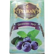 Табак для кальяна Pelikan 50 гр «Blueberry Mint»