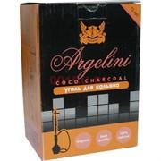 Уголь для кальяна Argelini кокосовый 72 кубика