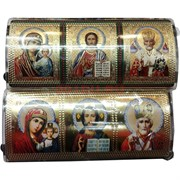 """Православный оберег """"Триптих"""" (прозрачный, на липучке)"""