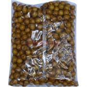 Бусины деревянные 14 мм «темный желто-коричневый» 500 гр