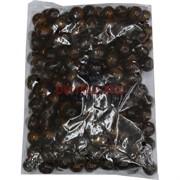 Бусины деревянные 20 мм «темно-коричневый» 500 гр