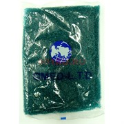 Бисер №6 (3,6 мм) зеленый №3B 450 грамм