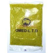 Бисер №6 (3,6 мм) желтый прозрачный №170 450 грамм