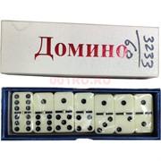 Домино 28 костей (арт.3233) с металлическим шариком 60 шт/кор
