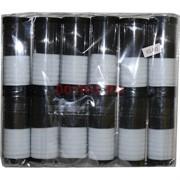 Резинка черно-белая (KG-693) цена за упаковку 168 шт
