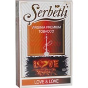 Табак для кальяна Шербетли 50 гр «Love&Love» Serbetli