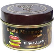 "Табак для кальяна Khalil Mamoon 250 гр ""Triple Apple"" (USA) мята"