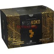 Уголь для кальяна NusaKoko кокосовый 1 кг 22 мм 96 кубиков