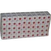 Кости игральные 14 мм (HR-D7-945) сине-красные 100 шт