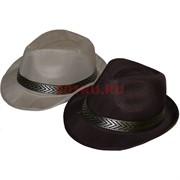 Шляпа летняя простая 5-6 цветов