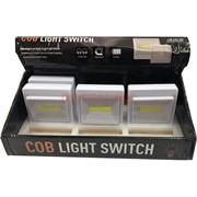 COB LED 3W магнитная лампа «выключатель»