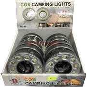 Светильник-лампа LED (BL-981) с карабином на 4AAA батарейки