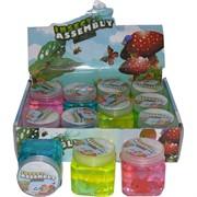 Лизун мялка «Insect Assembly» с игрушкой 12 шт/уп