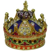 Шкатулка со стразами (1175) «Корона»