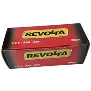 Батарейки ААА солевые Revolta 60 шт