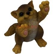 Фигурка «Котик желтый» (К10) из полистоуна