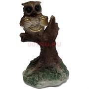 Фигурка «Сова с подковой» (С18) из полистоуна