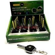 Брелок-фонарик (5852) «ключ металлический» 24 шт/уп