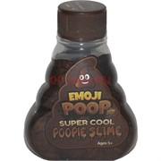 Лизун жидкий перламутровый Emoji Poop 12 шт/уп
