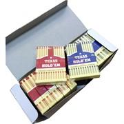 Карты игральные 54 карты Texas Hold'em 12 шт/уп 144 шт/кор (100% пластик)
