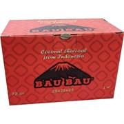 Кокосовый уголь для кальяна Bau Bau 72 кубика 25x25 мм 1 кг