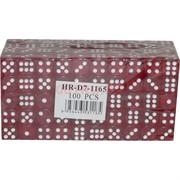 Кости игральные 15 мм цветные цена за 100 шт