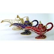 Лампа Аладина металлическая (для аромамасел, благовоний)