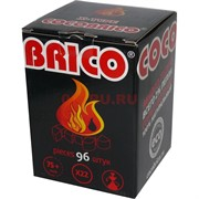 Уголь для калауда Cocobrico 22 мм 96 шт 1 кг