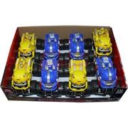 Машинка иннерционная Transformers 8 шт/уп 2 функции