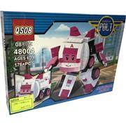 Контструктор Robocar Polt (48004) скорая помощь 176+ деталей