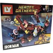 Конструктор Heroes Gathering (75090A) Iron Man 258 деталей
