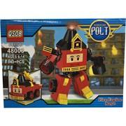 Контструктор Robocar Polt (48003) пожарник Рой 143+ деталей