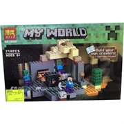 Конструктор My World (10390) «завод» 219 деталей