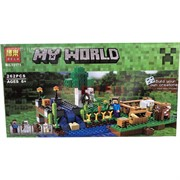 Конструктор My World (10175) «ферма» 262 детали