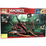 Конструктор Ninjaga (7023) Masters of Spinjitzu 345 деталей
