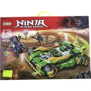 Конструктор Ninja (ZM-4013) Blocks Series 442 детали