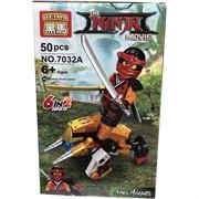 Конструктор Ninja (7032) на 50 деталей 12 шт/уп