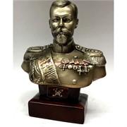 Бюст Николая II 13 см