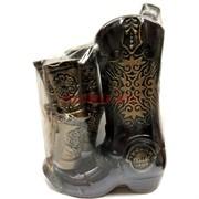 Бутылка керамическая «Сапог» + 6 рюмок
