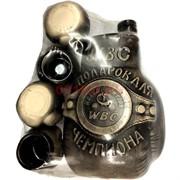 Бутылка керамическая «Пояс чемпиона» + 4 рюмки
