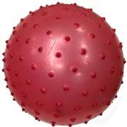 Мячик надувной массажный с шипами 36 шт/уп 4 цвета