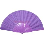 Веер фиолетовый однотонный 12 шт/уп