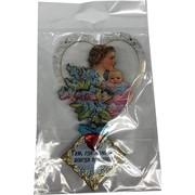 Магнит «Мать с ребенком» деревянный