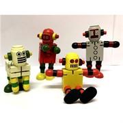 Игрушка деревянная «Робот» с двигающимися конечностями