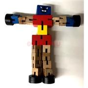 Игрушка деревянная «робот-трансформер»