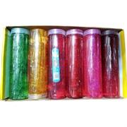 Лизун мялка в банке 420 гр светящийся цветной 6 шт/уп