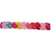 Резинка для волос (KG-512) цветочки-ягодки 20 шт/уп