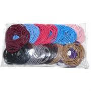 Резинка для волос (KG-64J) цветная 200 шт/уп